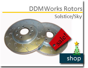 Chevy Sonic rotors
