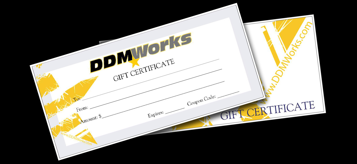DDMWorks rewards program