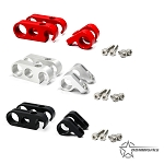 DDMWorks Billet hose clamps for Polaris Slingshot