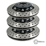 DDMWorks Upgraded Brake Rotors, Set of 3, for Polaris Slingshot