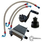 DDMWorks Oil Cooler and Filter Relocation kit for Polaris Slingshot