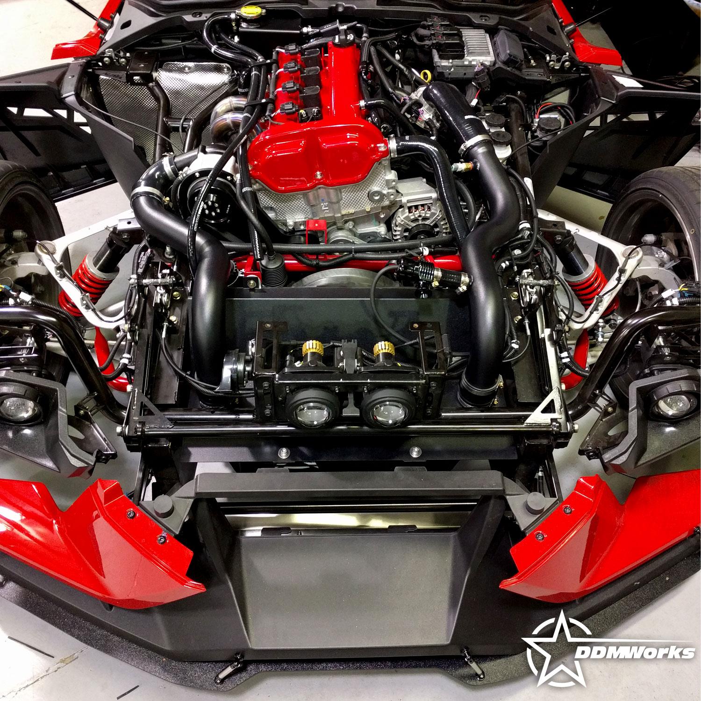 Polaris Slingshot Rotrex Supercharger Kit by DDMWorks