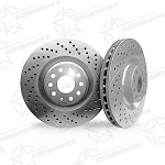 Performance Brake rotors for Mazda 2 by DDMWorks