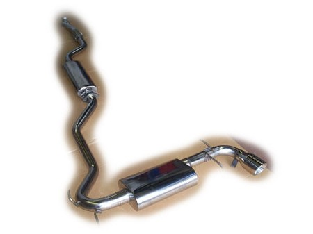 Solstice N/A 2.4L  Single Exhaust by Solo Performance