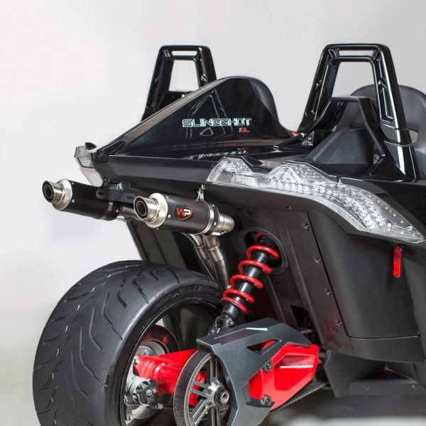 "Welter Performance Dual 2"" Exhaust for Polaris Slingshot"