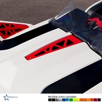 Polaris Slingshot Center Hood Vent by DDMWorks